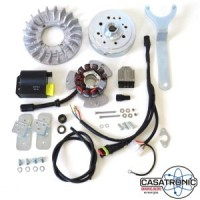Casatronic Ducati 12v electronic kit for GP crank, STANDARD weight