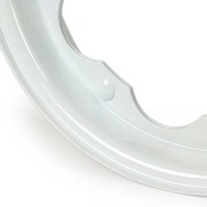 BGM wheel rim (Lambretta): White