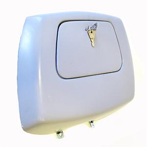 Leg shield toolbox: SX200 twin cylinder prototype type, extra deep