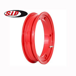 SIP tubeless wheel rim, red: Vespa