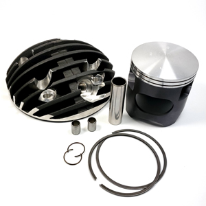 Casa Performance Black-line Radial cylinder head and complete piston kit for TS1