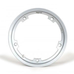 "BGM PRO tubeless wheel rim 2.10-10"", aluminium- Vespa, Silver"