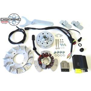 Casatronic Ducati 12v electronic kit for GP crank, STANDARD