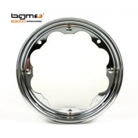 BGM wheel rim (Lambretta): Chrome