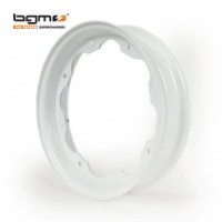 BGM wheel rim (Lambretta): White