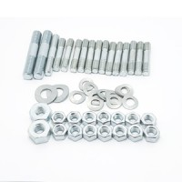 CP crankcase side cover hardware set: Zinc