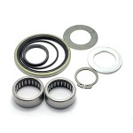 Vespa front hub back plate rebuild kit for PX with 20mm axle